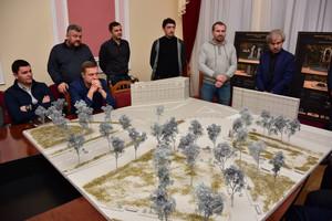 Архітектурно-містобудівна рада розглянула композиційне рішення для входу на Вал з проспекту Миру