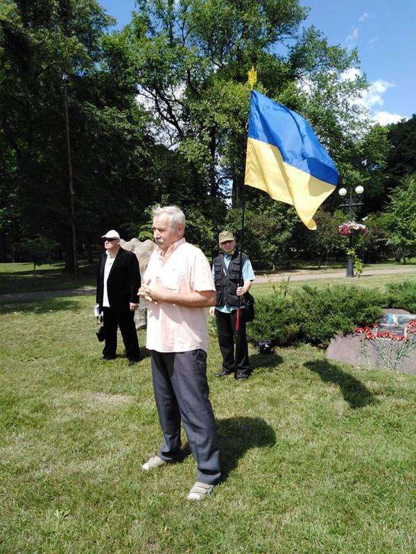 У Чернігові відзначили 30-річчя ухвалення Декларації про державний суверенітет України