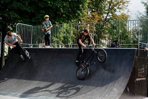 Завершується облаштування парку для занять екстремальними видами спорту