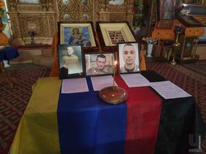 За загиблих у жовтні Захисників України помолилися у Чернігові