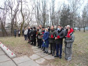 Пам'ять жертв Голокосту вшанували в Чернігові