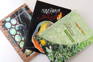 Віктор Татарин, Лариса Ткач та Олена Терещенко презентували перші художні твори, видані у 2020 році коштом обласного бюджету