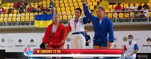Наталія Чистякова стала Чемпіонкою Європи з самбо