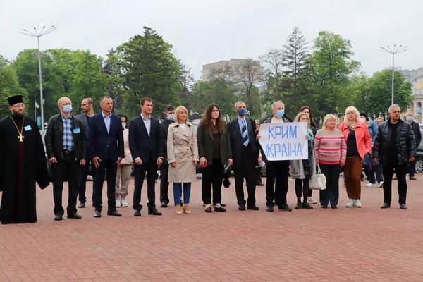 Чернігів разом із кримськотатарським народом