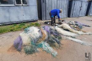 Рибоохоронцями знищено понад три кілометри сіток