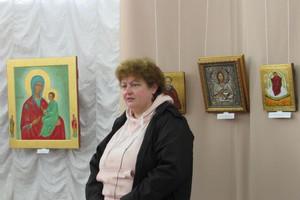 У Чернігові відкрилася виставка сучасного іконопису художниці Ірини Годунової