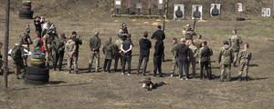 На Чернігівщині учасники російсько-української війни зібралися на бойовий вишкіл
