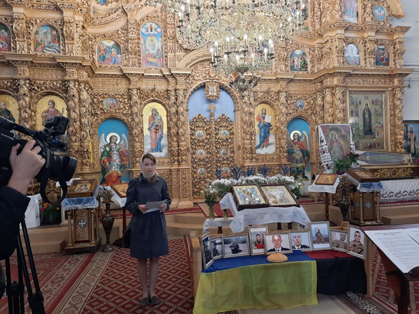 За 9-х загиблих у серпні Захисників України помолилися у Чернігові