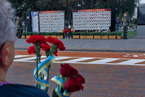 Віддали шану і вклонились полеглим за волю і свободу України героям Придесення